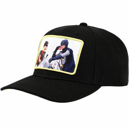 DC Comics Batman 1960's Batman & Robin Bat Phone Image Snapback Hat