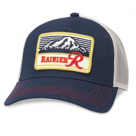 Rainier Logo Patch Mesh Trucker Hat