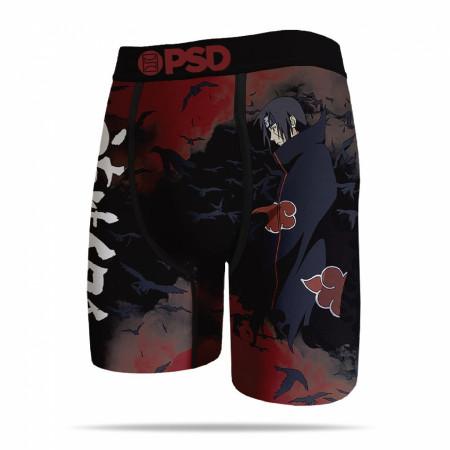 Naruto Shippuden Tsukuyomi Karasu Crows Itachi Men's Boxer Briefs