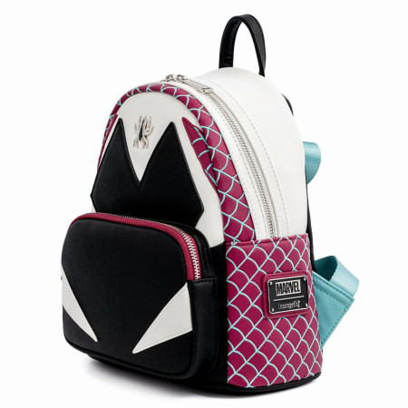 Spider-Gwen Costume Cosplay Mini Backpack by Loungefly