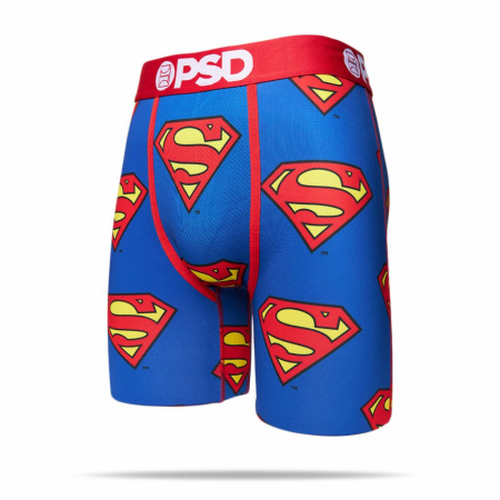 Superman Logo Men's Boxer Briefs