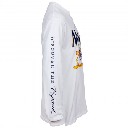 Modelo Cerveza Long Sleeve Logo T-Shirt with Sleeve Prints