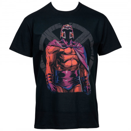 Magneto Shattered X-Men Symbol T-Shirt