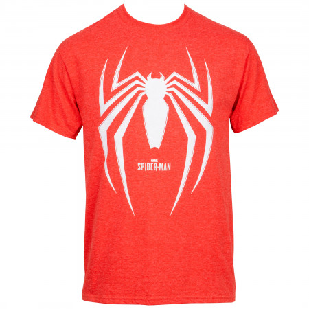 Spider-Man Gamerverse Symbol Red T-Shirt