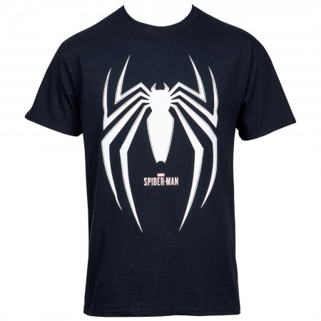 Spider-Man Gamerverse Symbol Black T-Shirt