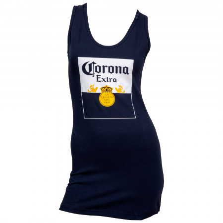 Corona Extra Bottle Label Women's Tank Top