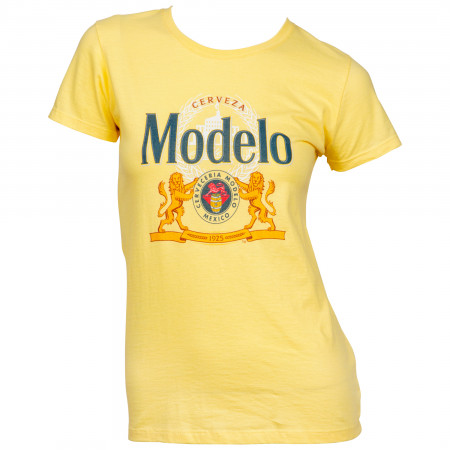 Modelo Cerveza 1925 Label Women's T-Shirt