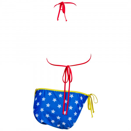 Wonder Woman Symbol 2-Piece Bikini Swimsuit
