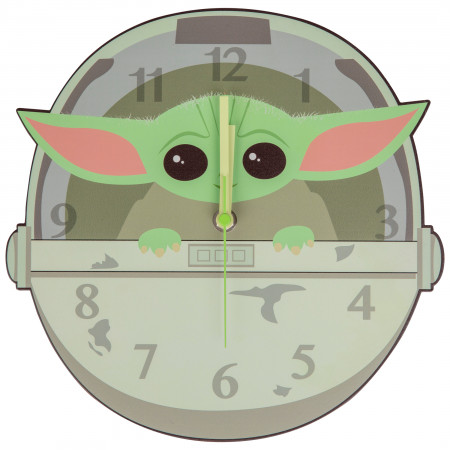 "Star Wars The Mandalorian ""The Child"" Clock"