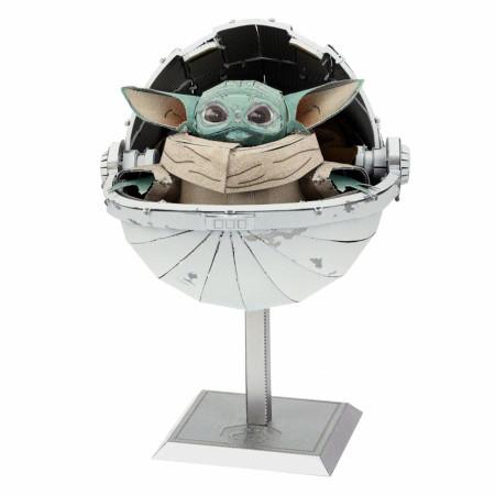 Star Wars The Mandalorian The Child in Carrier Premium Metal Earth Model Kit