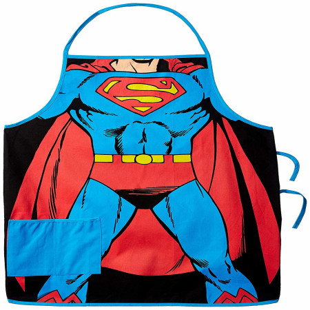 Superman Costume Kitchen Apron