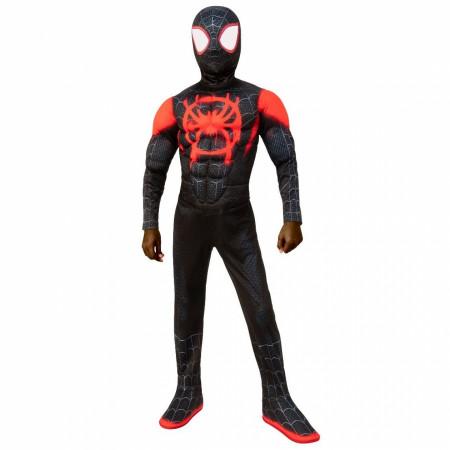 Miles Morales Spider-Man Kids Deluxe Costume