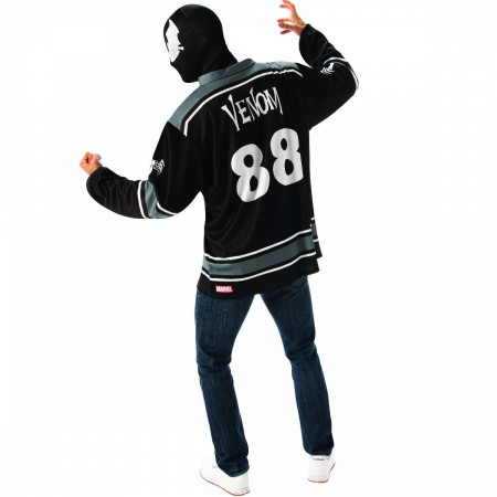 Venom Hockey Jersey and Mask