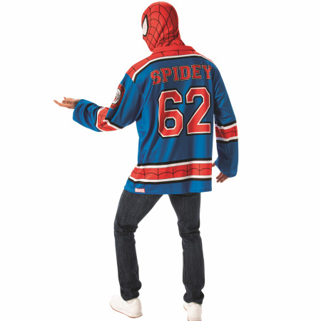 Spider-Man Hockey Jersey and Mask