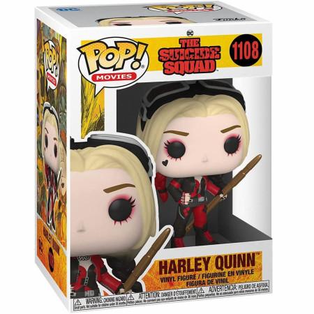 The Suicide Squad Harley Quinn Bodysuit Funko Pop! Vinyl Figure