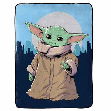 Star Wars The Mandalorian The Child Twin Blanket