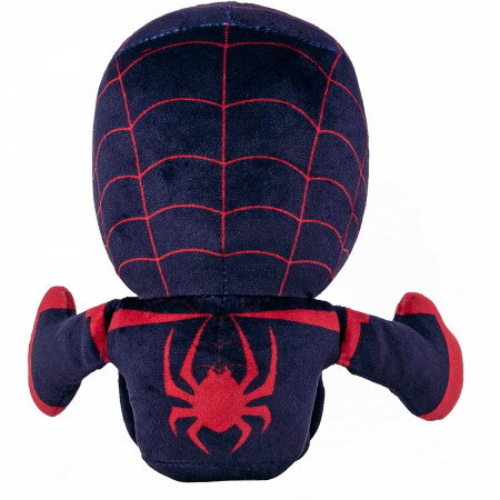 Marvel Spider-Man Miles Morales 8 Inch Kuricha Sitting Plush Doll