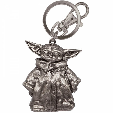 Star Wars Grogu The Child from The Mandalorian Keychain