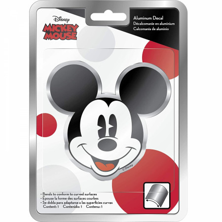 Disney Mickey Mouse Aluminum Car Decal