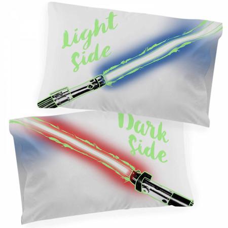 Star Wars Light/Dark Side Glow in the Dark Pillowcase