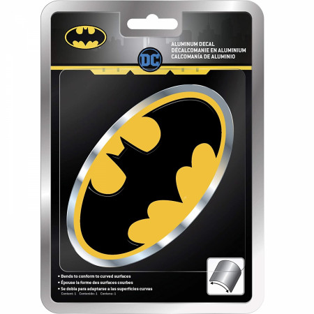 Batman Aluminum Car Decal