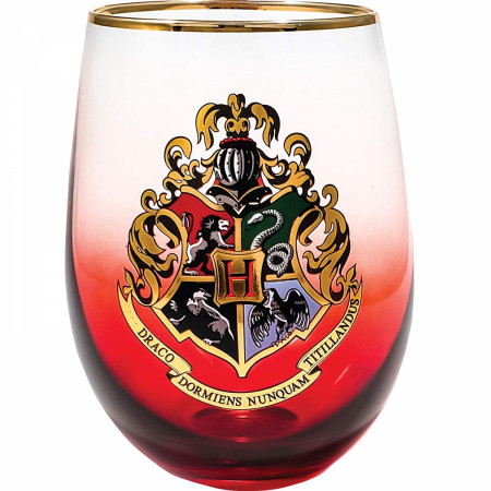 Harry Potter House Crests Stemless Glass