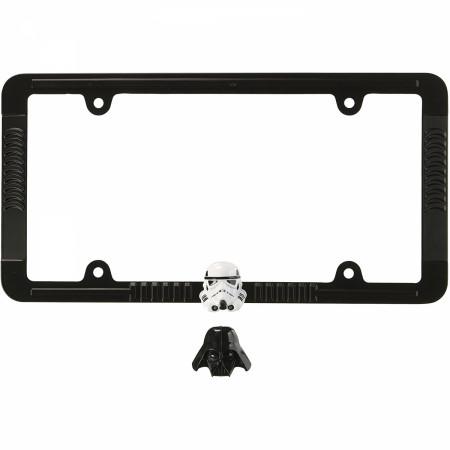 Star Wars Empire Darth Vader & Stormtrooper License Plate Frame