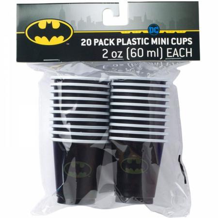 Batman Classic Logo 2oz Party Cups 20-Pack