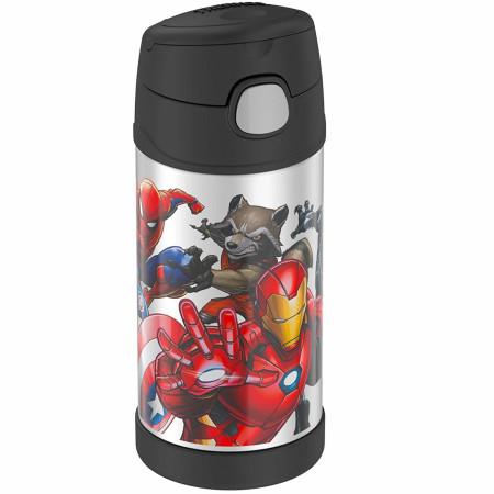 Marvel Universe 12 Oz Thermos Bottle