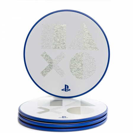 PlayStation PS5 Metal Coasters