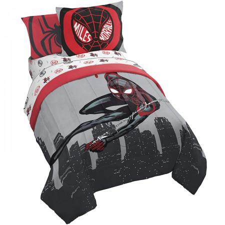 Marvel Spider-Man Miles Morales New Kid Full Bed Set