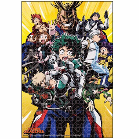 My Hero Academia 1000 Piece Puzzle