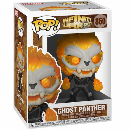 Marvel Infinity Warps Ghost Panther Funko Pop! Vinyl Figure