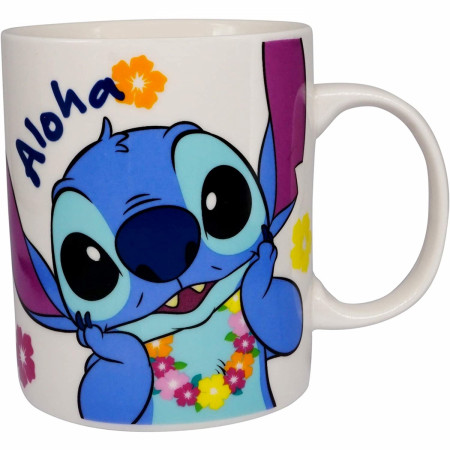 Disney Lilo and Stitch Character Aloha 11 Ounce Ceramic Mug