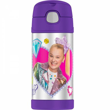 JoJo Siwa 12 Oz Thermos Bottle
