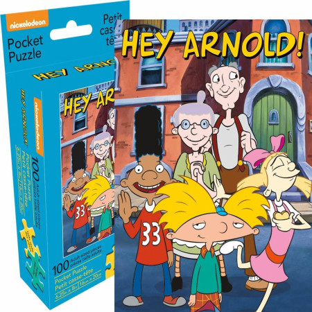 Hey Arnold Group 100 Piece Adult Pocket Puzzle