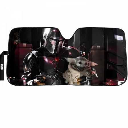 Star Wars The Mandalorian Razorcrest Cockpit Car Sunshade