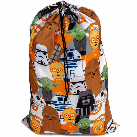 Star Wars Character Line Up Drawsting Laundry Bag