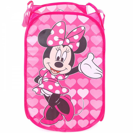 Minnie Mouse Pop Up Laundry Hamper