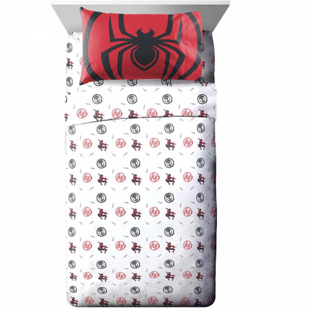 Marvel Spider-man Miles Morales New Kid 3-Piece Full Sheet Set