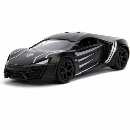 "Black Panther Lykan Hypersport Diecast Metal 5"" Movie Car by Jada Toys"