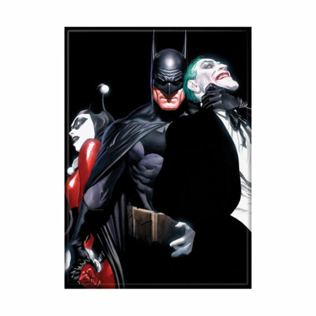Alex Ross Harley Joker Batman Print Photo Magnet