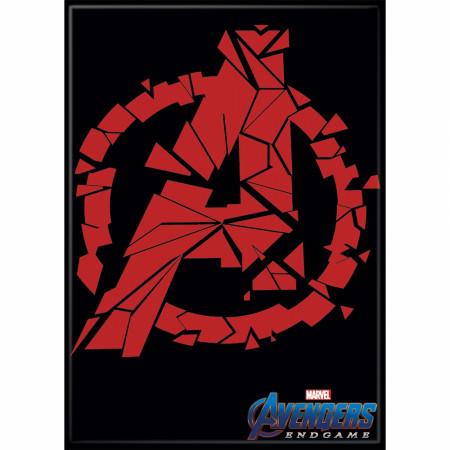 Avengers Broken Logo Magnet