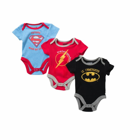 DC Comics 3-Pack Snapsuits