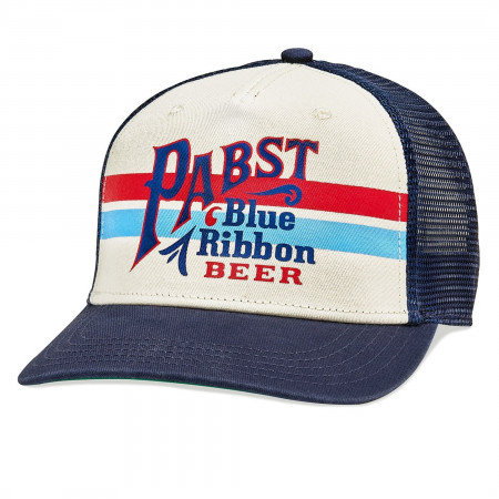 PABST Blue Ribbon Beer Sinclair Style Trucker Hat