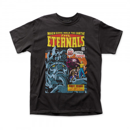 The Eternals Comic Cover Marvel T-Shirt