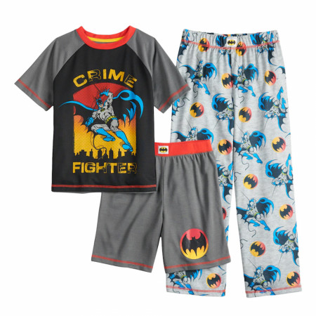 Batman Crime Fighter Youth Sleep 3-Piece Set