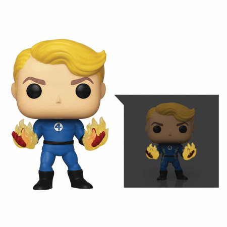 Funko Pop! Marvel: Fantastic Four - Human Torch Specialty Series