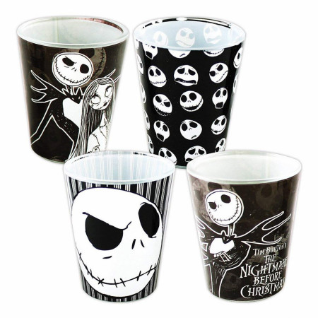 Nightmare Before Christmas 4pc Shot Glass Set
