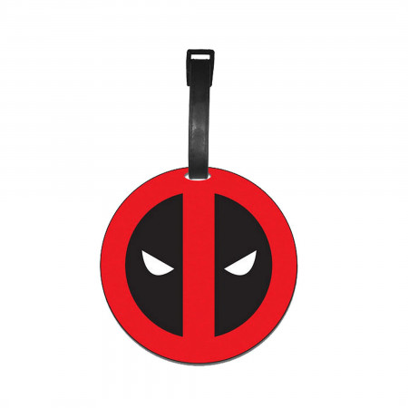 Deadpool Logo Luggage Tag